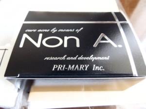 赤ニキビ洗顔料「NonA」